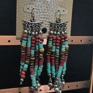 New Treska Beaded Earrings